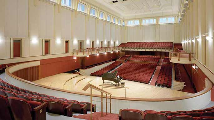 Photo of Cherry Logan Emerson Concert Hall